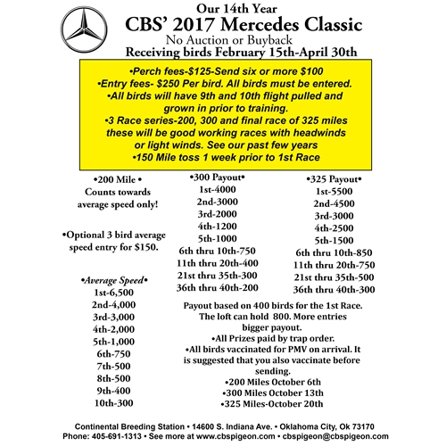 Mercedes Rules and Information